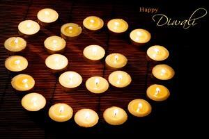 Happy Deepawali Diya Decoration Wallpapers