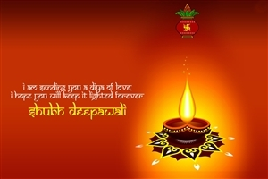 Happy Deepawali Greetings Festival Diya Decoration Celebration HD Wallpapers