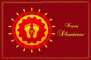 Happy Dhanteras Greetings Wallpaper