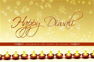 Happy Diwali Celebration Greetings Card Wallpapers