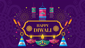 Happy Diwali Decoration Background HD Images
