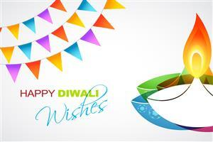 Happy Diwali Greetings Card Wishes Images