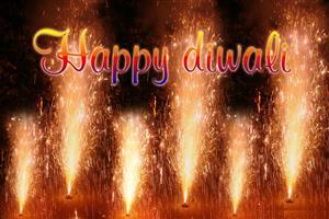 Happy Diwali with Crackers Wallpapers