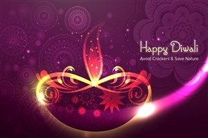 Have Safe and Save Nature Wish You Happy Diwali HD Images
