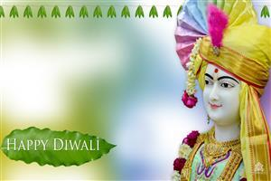Swaminarayan Happy Diwali Wallpaper