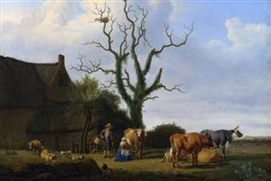 Village National Gallery of London Paintings Images