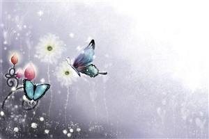Best Painting of Butterfly HD Image