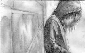 Pencil Sketch Drawing Ultra HD Wallpaper