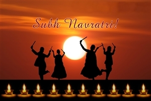 Happy Subh Navratri HD Indian Festival Photo