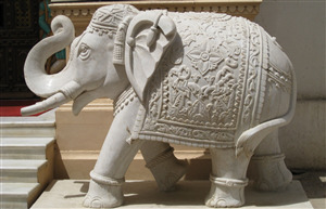 Sculptures of Sacred Elephant