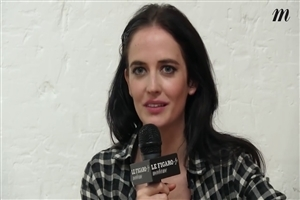 Eva Green During TV Interview Photo