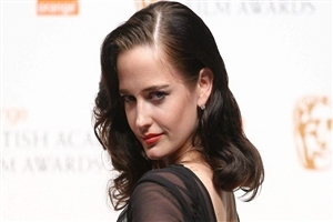Famous French Hollywood Actress Eva Green in Black HD Wallpaper