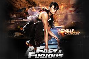 Fast and Furious 6 Michelle Rodriguez Cover Photo