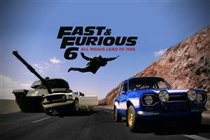 Furious 6 Cover Photo