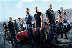 Hollywood Movie Fast and Furious 6 Team