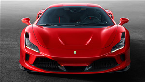 4K Wallpaper of 2019 Ferrari F8 Tributo Car