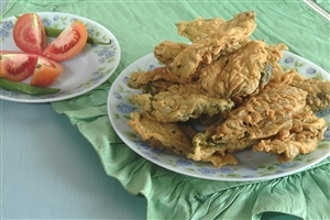 Bell Paper Bhajiya Snack Images