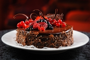 Chocolate Cake HD Wallpaper