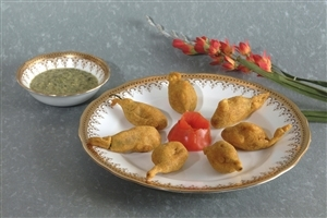 Mirch Pakora Gujjus Favourite Food Dish Images