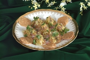 Papdi Puri Gujjus People Popular Favourite Dish Wallpapers