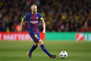 Andres Iniesta in Spain Football Worldcup 2018 Wallpaper
