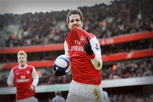 Cesc Fabregas Spanish Footballer HD Wallpaper