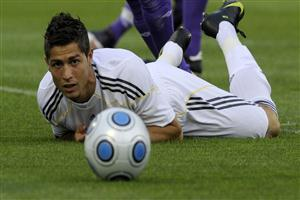 Cristiano Ronaldo Sleeping on Ground