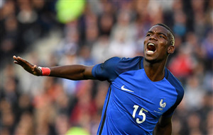French Footballer Paul Pogba FIFA World Cup 2018 Match Wallpapers