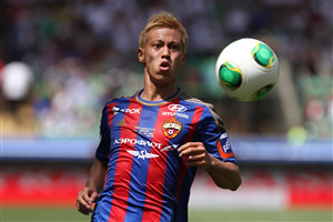 Keisuke Honda in Japan Football Team FIFA World Cup 2018 4K Wallpapers