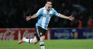 Lionel Messi Footballer 4K Wallpaper