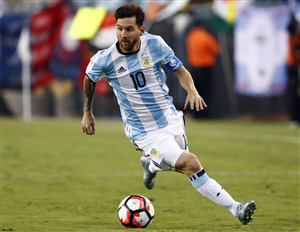 Lionel Messi in Argentina Football Team FIFA World Cup 2018 HD Wallpapers