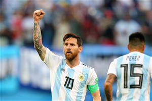 Lionel Messi in World Cup 2018 Photos