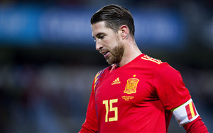 Popular FIFA Footballer Sergio Ramos 4K Wallpaper