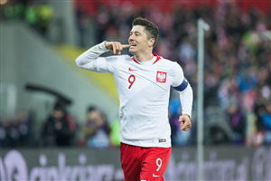 Robert Lewandowski Poland FIFA World Cup 2018 HD Wallpapers