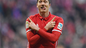 Robert Lewandowski Polish Professional Footballer Wallpaper