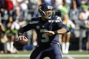 Russell Wilson Quarterback Football Player Image