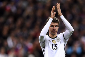 Thomas Muller German Footballer in FIFA World Cup 2018 HD Wallpaper