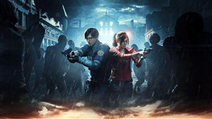 4K Wallpaper of 2019 Resident Evil 2 Survival Game