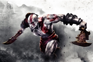 Kratos Game Wallpaper