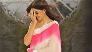 5K Wallpaper of Genelia DSouza