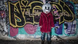 Ghost in Rabbit Cloth Photo