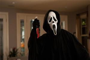 Ghostface from the Scream Movies Wallpaper