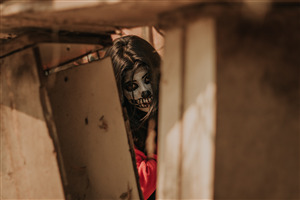 Horror Girl Ultra HD Photography