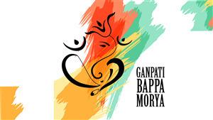 Ganesh Chaturthi 4K Wallpaper