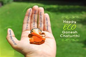Happy Eco Ganesh Chaturthi Wallpapers