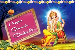 Happy Ganesh Chaturthy Greetings HD Indian God Photos
