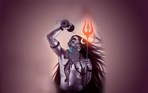 Lord Neelkanth Shiva Desktop Background Wallpaper