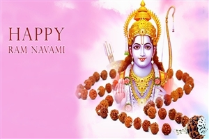 Lord Rama Festival Happy Ram Navami