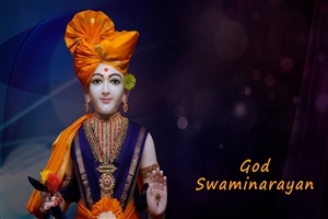 Lord Swaminarayan HD Wallpaper