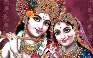 Photo of God Radhe Krishna